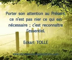 eckhart tolle present