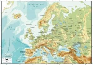 carte europe belge