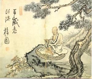 estampe-chinoise sage