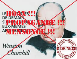 churchill hoax