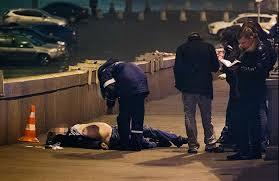 Boris nemtsov scene de crime