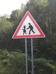 pédo stop panneau